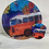 Thumbnail: Abanico plegable Bus Naranja