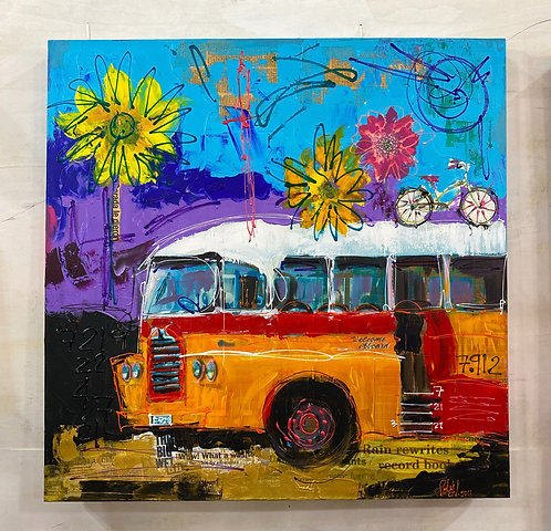 En el Bus Naranja