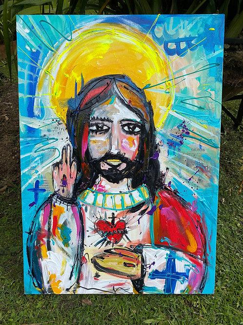 Jesucristo a color