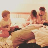 sibling care at births