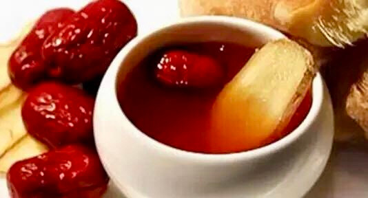Springtime - Ginger & Red Date Tea