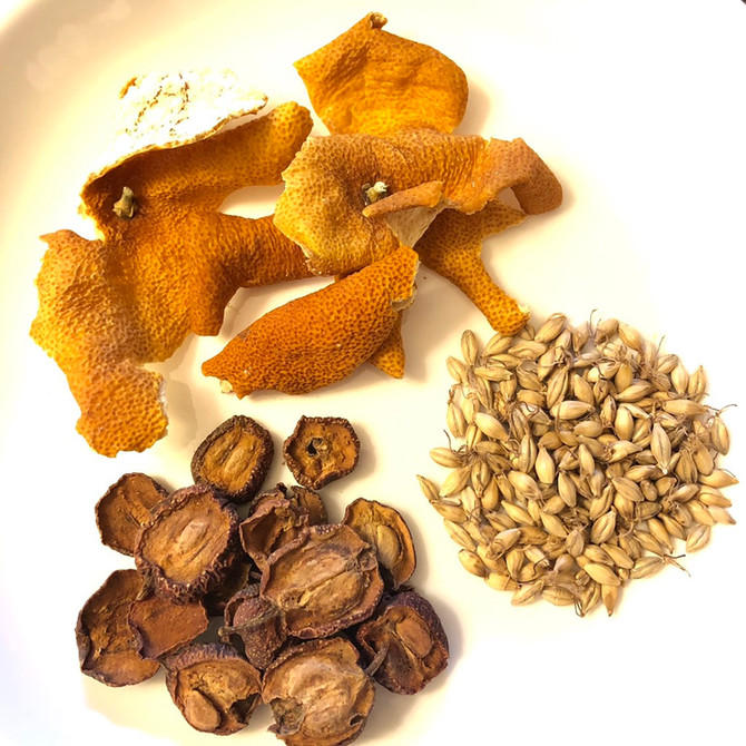 Hawthorn Malt Tea