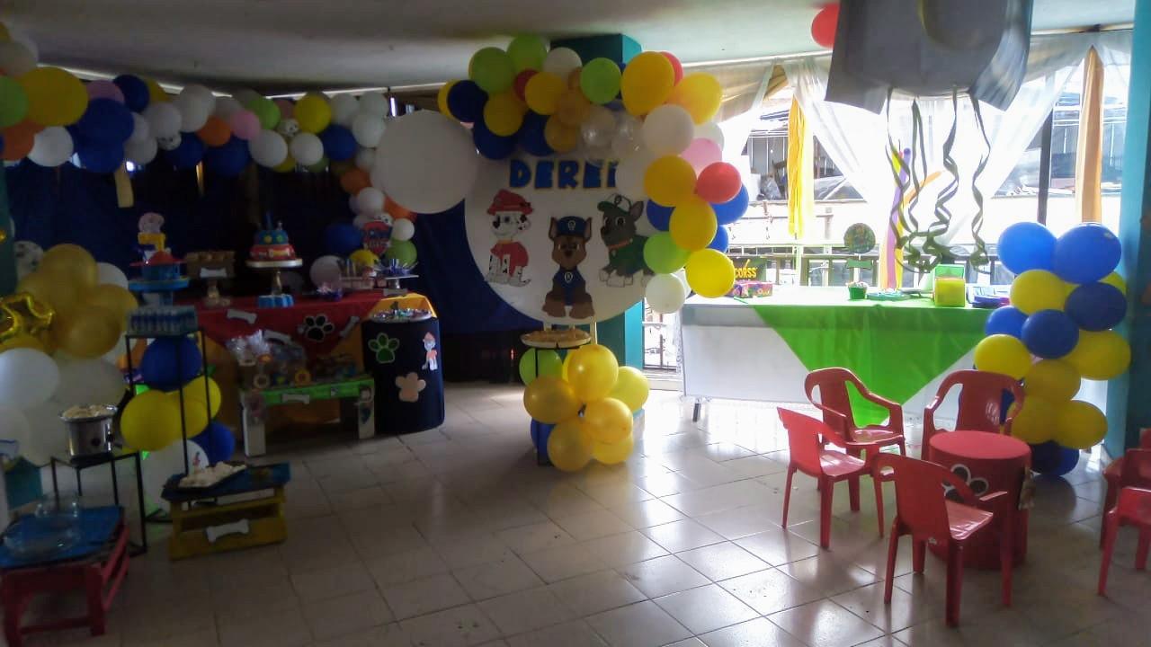 Fiesta Infantil Paw Patrol