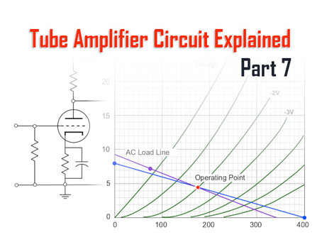 Tube Amplifiers Explained, Part 7: Coupling, AC Load, and Cathode Bypass Capacitor