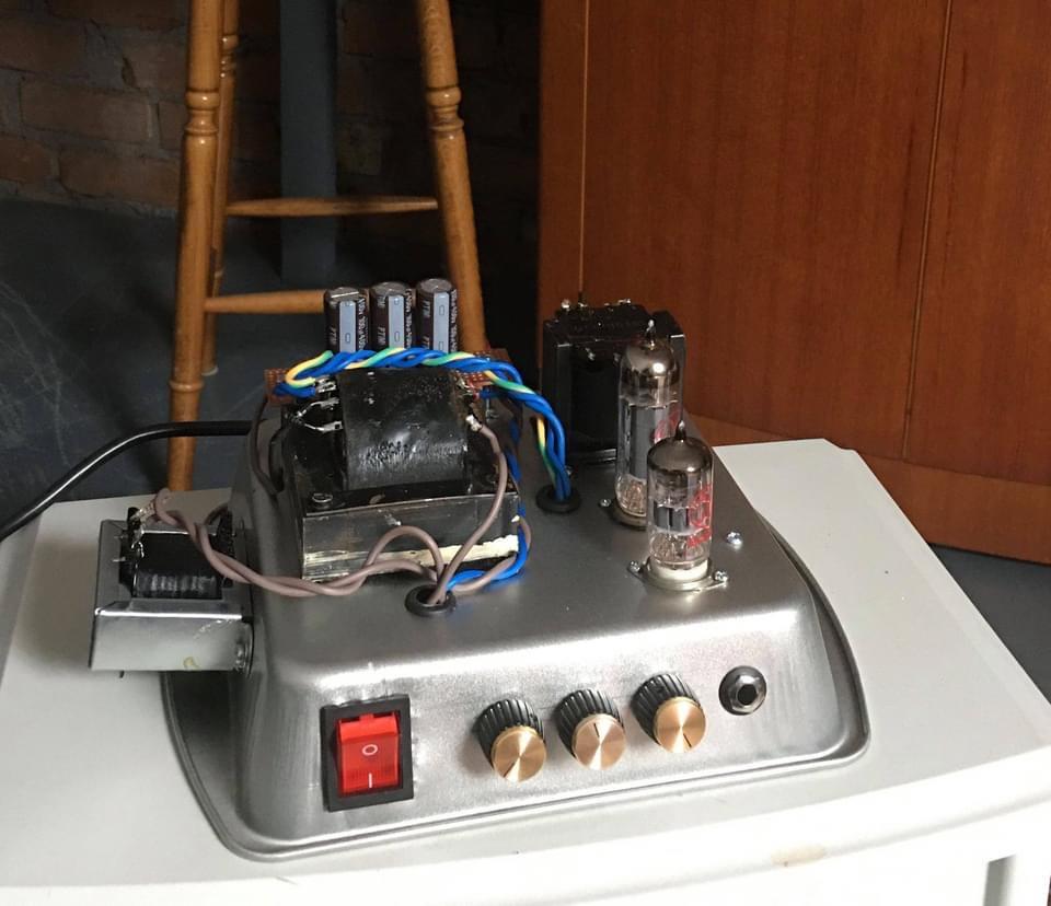 Cakepan amp
