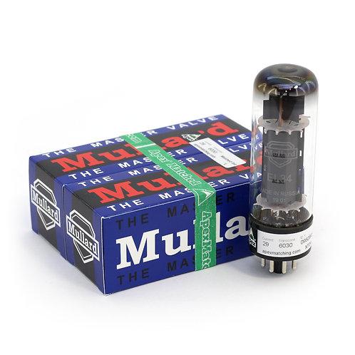 Mullard EL34 tube pair