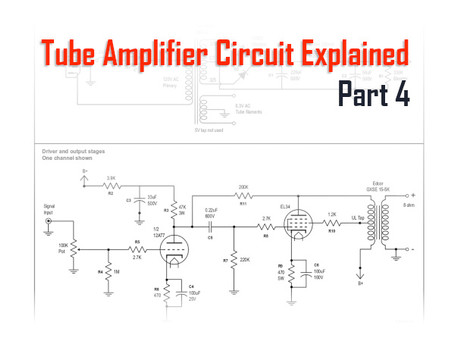 Tube Amplifiers Explained, Part 4:  Big Picture of the Circuit