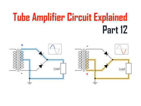 Tube Amplifiers Explained, Part 12: Power Supply, Rectification and Filtering