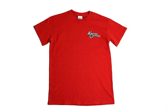 T-Shirt: Red & White