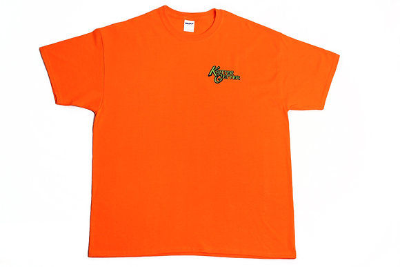 T-Shirt: Orange & Lime