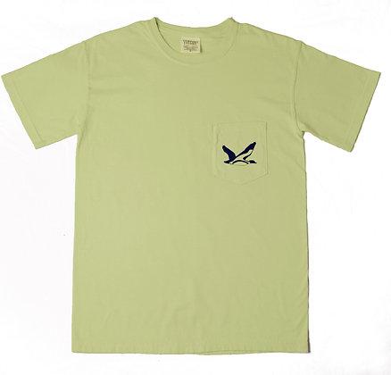 T-Shirt:  Comfort Color Light Green/Blue
