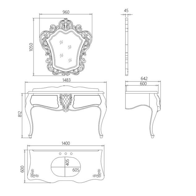 Bathroom Cabinets XZ-01