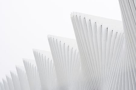 white cones