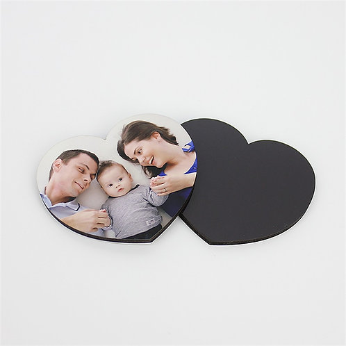 Heart Magnet Sublimation Blank