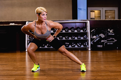 Customized workout program 8 week