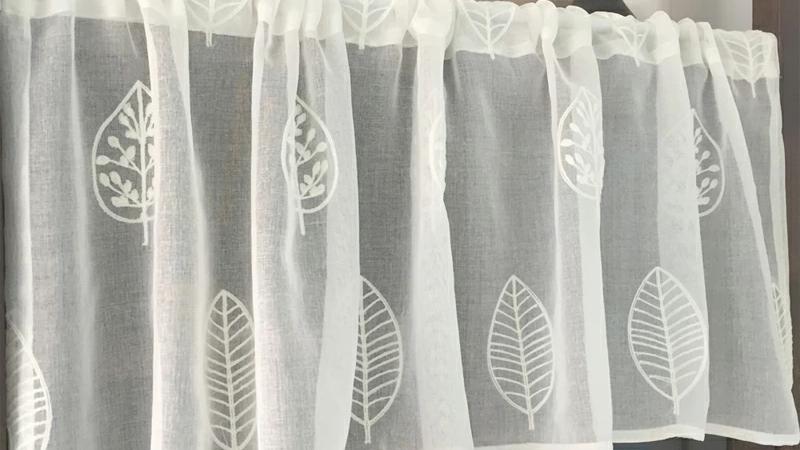 カフェカーテン 巾:150cm 丈:40cm 45cm 50cm 55cm 60cm 65cm 70cm【オーダー可】【洗濯可】キッチン 喫茶店 洗面所 出窓