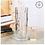 Thumbnail: 花瓶 おしゃれ ガラス 花瓶 一輪挿し かびん 北欧 かびん フラワーベース 花器 ガラス 柱型 花びん 筒型 シンプル モダン おしゃれ 生け花 透明 クリア