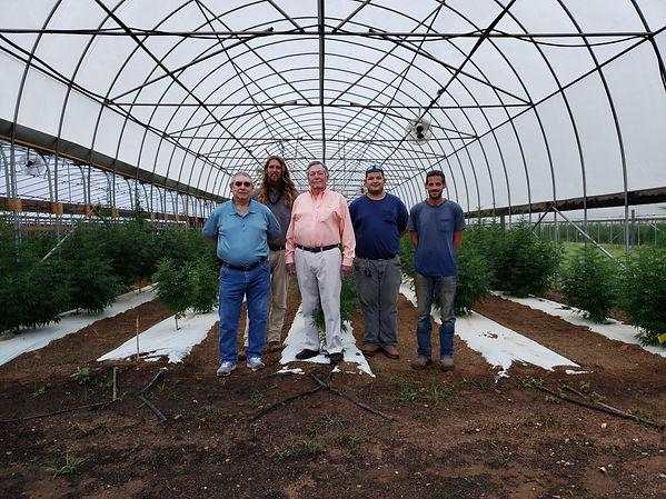 Sustainable CBD Farm Staff