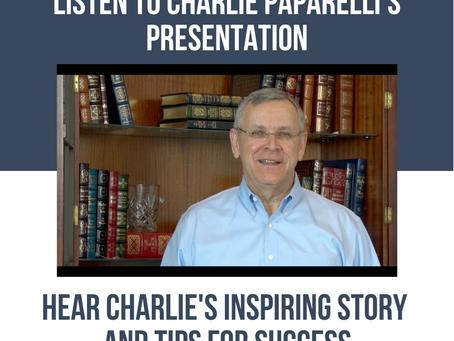 Charlie Paparelli's GLF Presentation