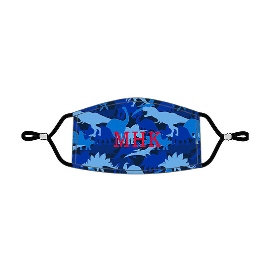 Dino Personalized Kids' Adjustable Mask