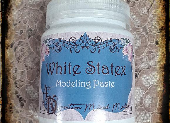 White Statex  Modeling /Paste