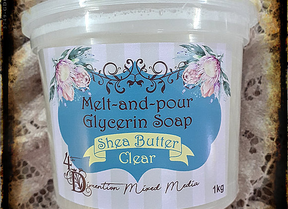 Melt and Pour  Soap /Shea Butter