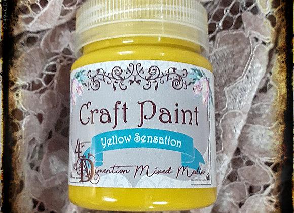 Yellow Sensation/Craft Paint
