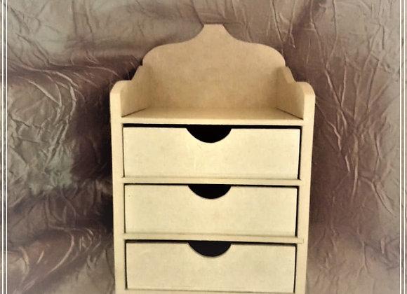 3 Drawer Vintage mini chest