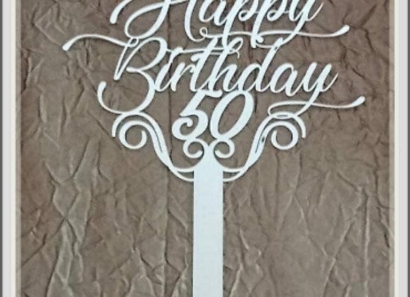 5 Happy Birthday 50