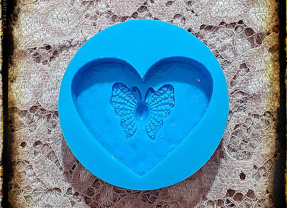 Heart Pearl Butterfly