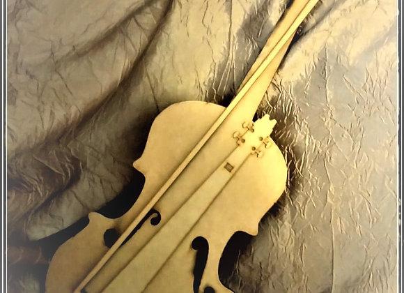 Medium Violin 6MM MDF