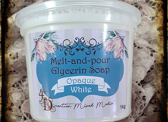 Melt and Pour Soap/Opaque White