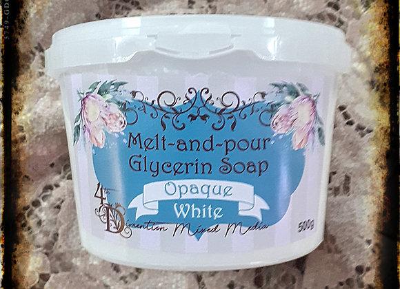 Melt and Pour Soap/OpaqueWhite