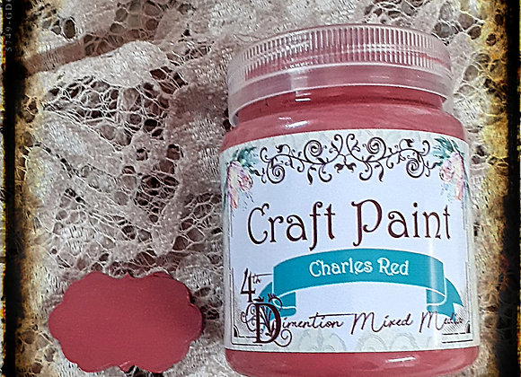 Charles Red/Craft Paint