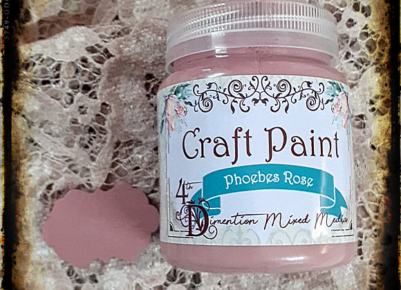 Phoebes Rose/Craft Paint