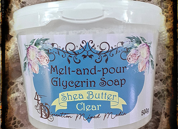 Melt and Pour Soap/Shea Butter