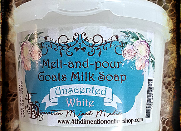 Goatsmilk Soup Unscented White