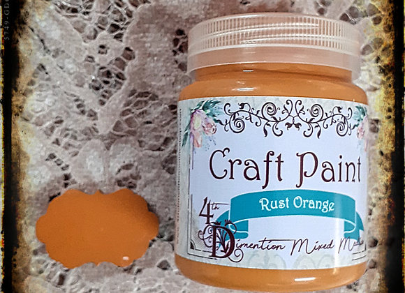 Rust Orange/Craft Paint