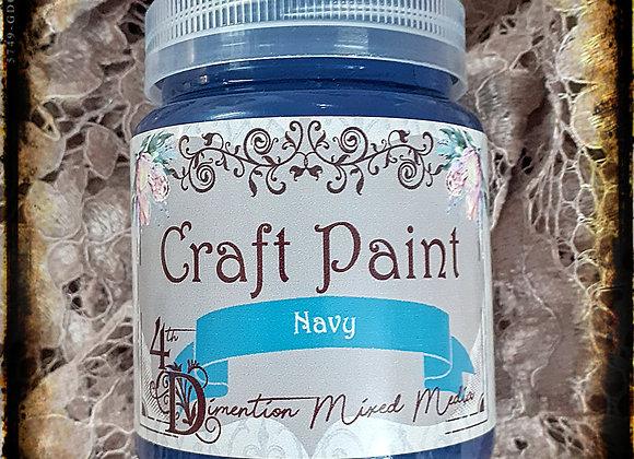Navy/ Craft Paint