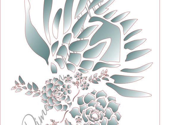14[7] Protea Bunch 7 /A3