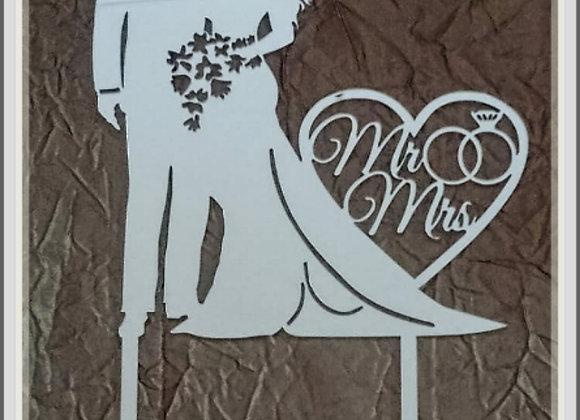 2 Mr & Mrs Wedding