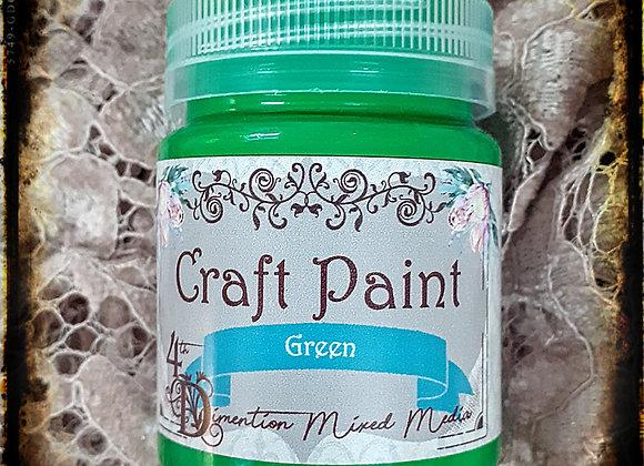 Green/ Craft Paint