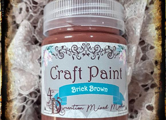 Brick Brown/Craft Paint