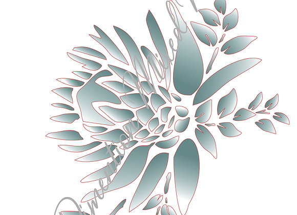 10[ 3] Protea Bunch 3 / Size A3