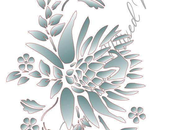 4[4] Protea Bunch 4/ Size A4