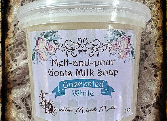 Melt and Pour Soap/Goats Milk