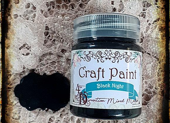 Black Night/Craft Paint