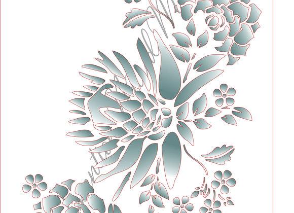 5[5] Protea Bunch 5 / Size A4