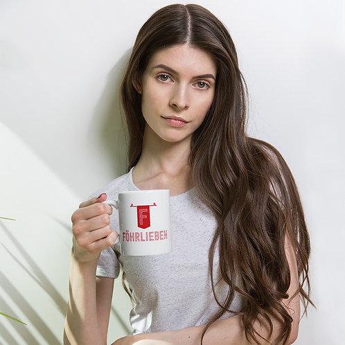 Föhrlieben Tasse weiß