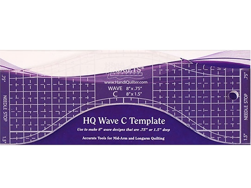 HQ Wave C Template 8″